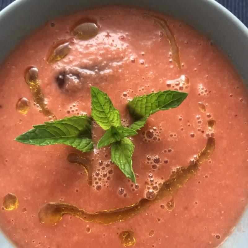 Wassermelonen – Gazpacho – die ultimative Erfrischung